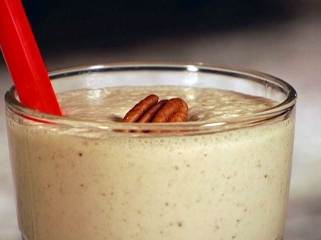 Bourbon Pecan Pie Milk Shake from FoodNetwork.com
