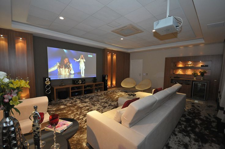 decoracao de interiores home theater:home theaters