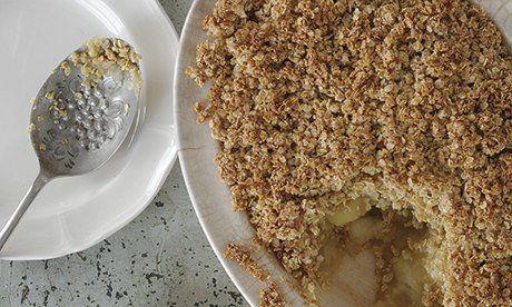 GF & Dairy Free Apple & Ginger Crunch Dessert