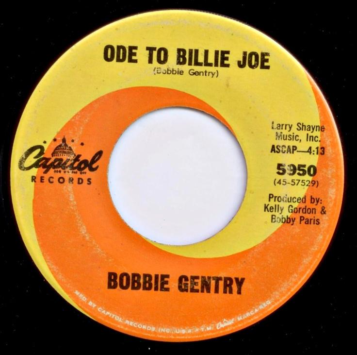 Ode to billie joe bobbie gentry seams like yesterday for Joy gift and jewelry sydney ns