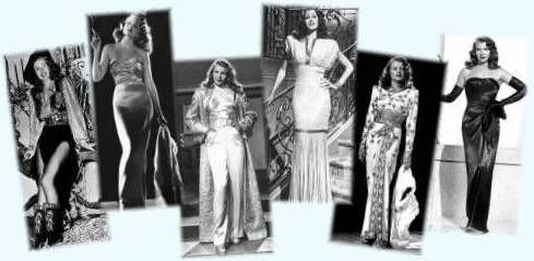 Jean-Louis designs for movie GILDA