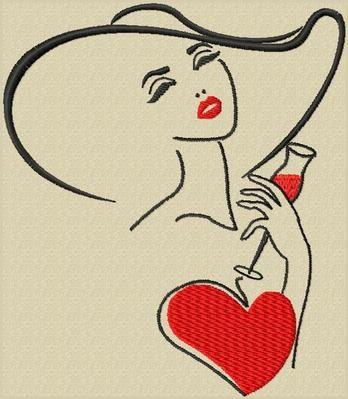 De jolies silhouettes en broderie machine gratuite... - Elkalin. Bienvenue sur mon blog!