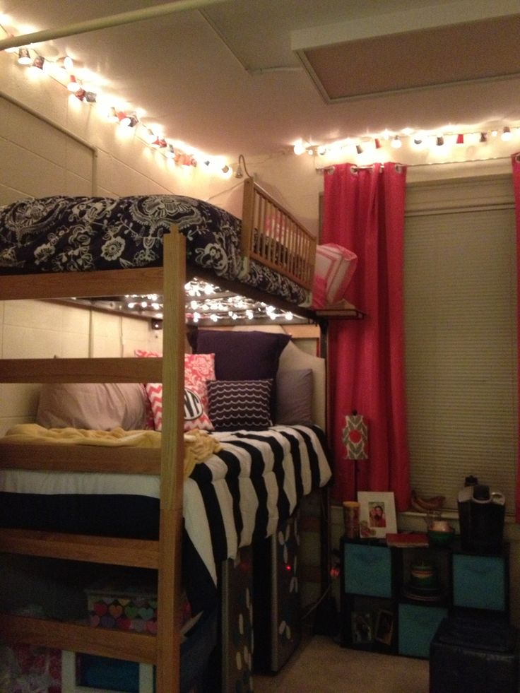 Cozy dorm room)  College and Dorm Ideas  Pinterest ~ 120619_Dorm Room Ideas Cozy