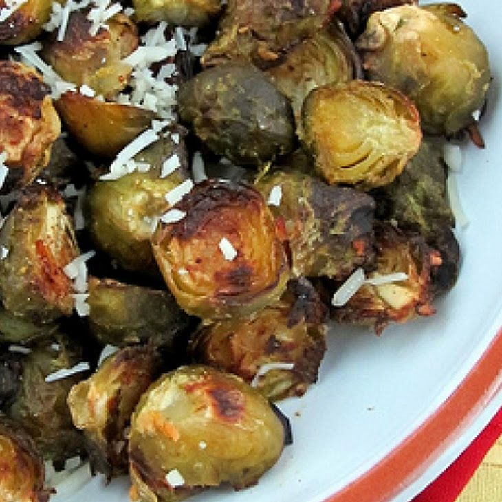 Lemon Parmesan Roasted Brussels Sprouts | Recipes | Pinterest