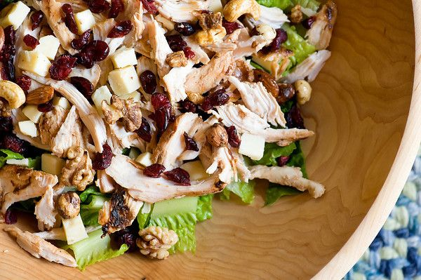 Cranberry Walnut Chicken Salad   Food glorious food!   Pinterest