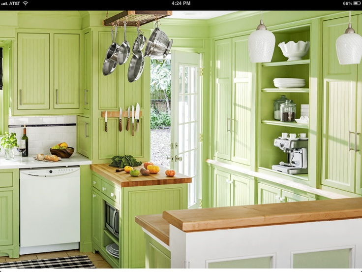 Pretty Color Kitchen Cabinets And Countertops Pinterest