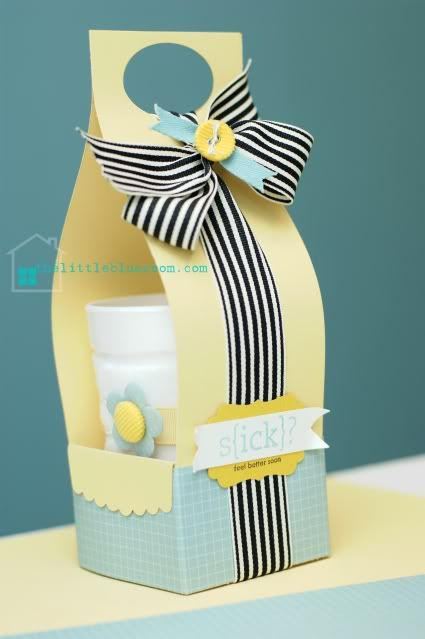 cute carrier to make for taking a sick friend tea/soup...etc