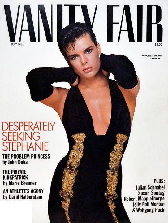 ... Grimaldi for Vanity Fair Jul85 | A top model history | Pint