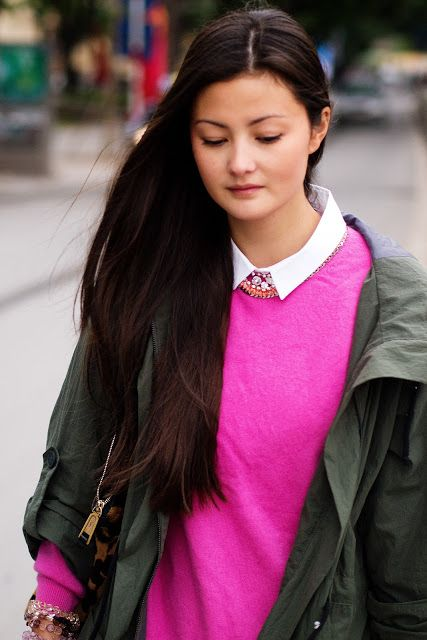 pink and olive style ist pinterest