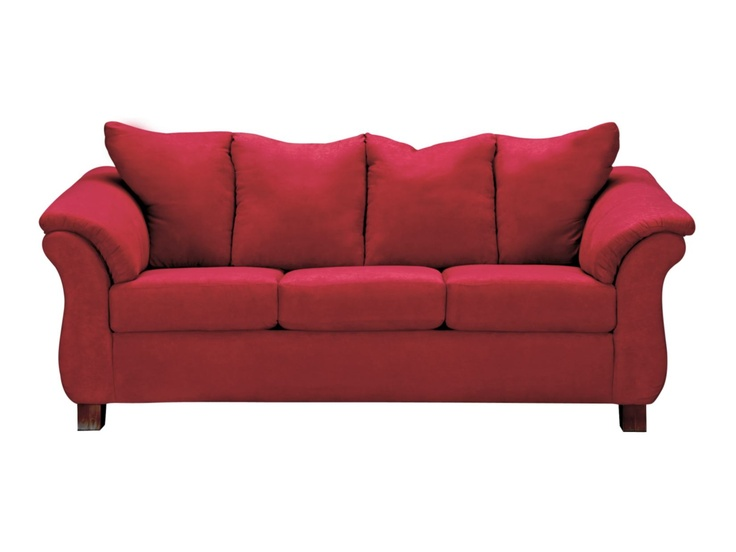 Adrian red sofa value city furniture for the home pinterest