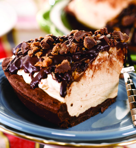 Recipe for Peanut Butter Cup Icebox Pie