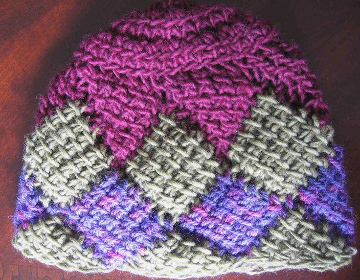 entrelac crochet Entrelac Crochet Pinterest