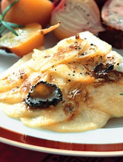 Truffled Mashed Potato Gratin Recipe — Dishmaps