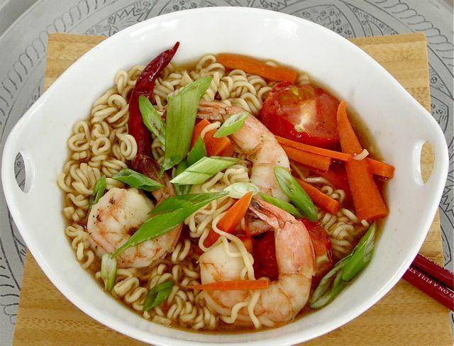 noodle video recipes ramen Recipe Ramen  Ramen shrimp freshfromevaskitchen: Pouch noodle Shrimp