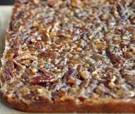 Delicious recipe for Pecan Pie Bars with Diamond Nut pecans!