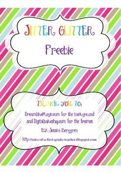 jitter glitter printable free