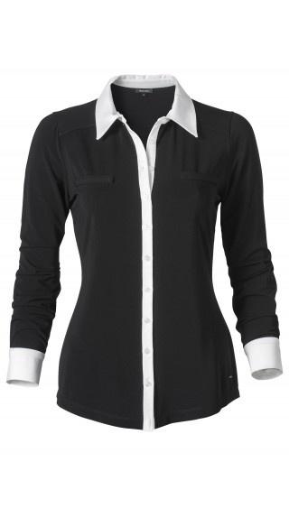 Black Blouse Collar