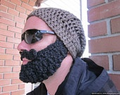 Nice way to rock a beard without the commitment.