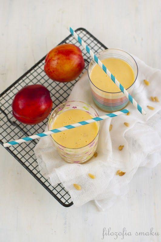 Nectarine Smoothie | drink | Pinterest