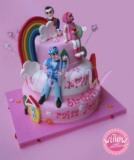 lazy town cake - Fancy cake!