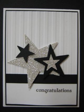Sparkly stars from Lori Schuck and Stampin' Up