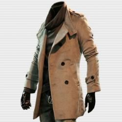 New Slim Fit Trench Coat