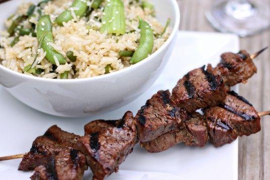 beef tenderloin kabobs | Grilling & BBQ | Pinterest