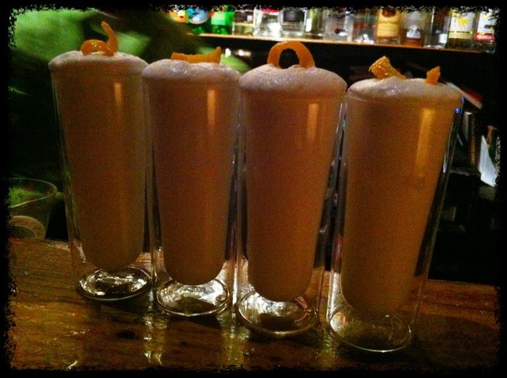 Sure. A Ramos Gin Fizz shot? Why not? | drinks | Pinterest