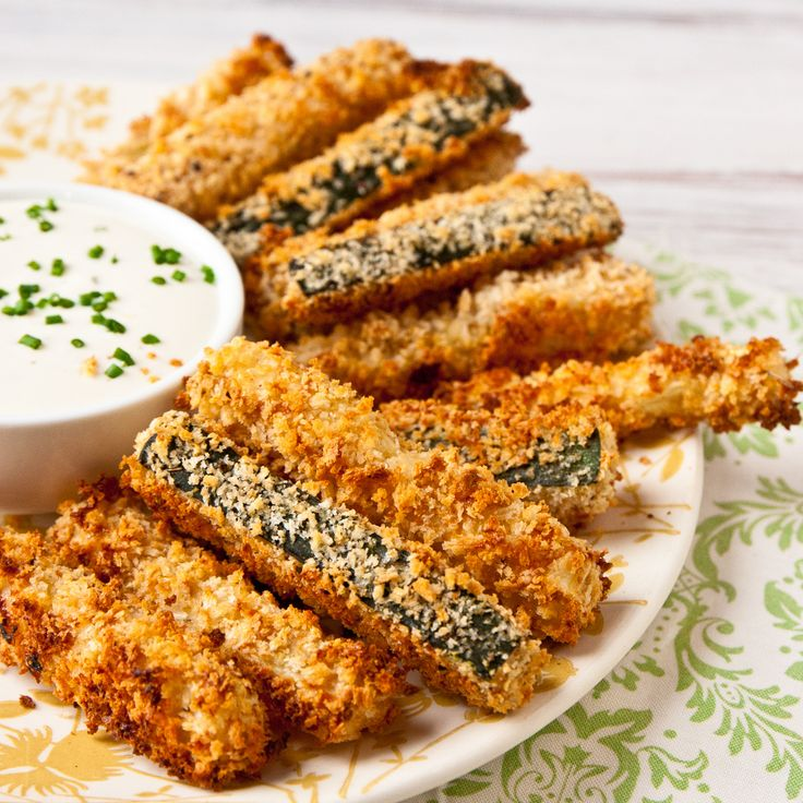 Crispy Baked Zucchini Fries   Fabulous Foods   Pinterest