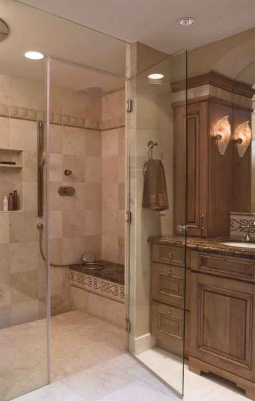 Small bathroom makeovers home decor bathroom pinterest - Stunning home interior and bathroom decoration using steam shower for less ideas ...