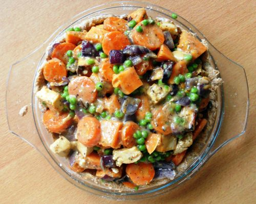 Vegan Tofu and Vegetable Pot Pie. | Yummy Food | Pinterest
