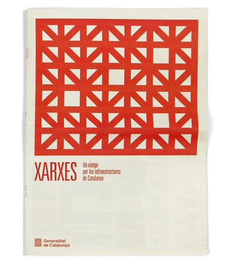 Xarxes booklet by Lamosca