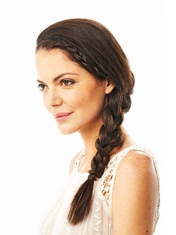 Hairstyles For Long Hair Gym : Workout-Friendly Hairstyles Hanadas Fitness Pinterest
