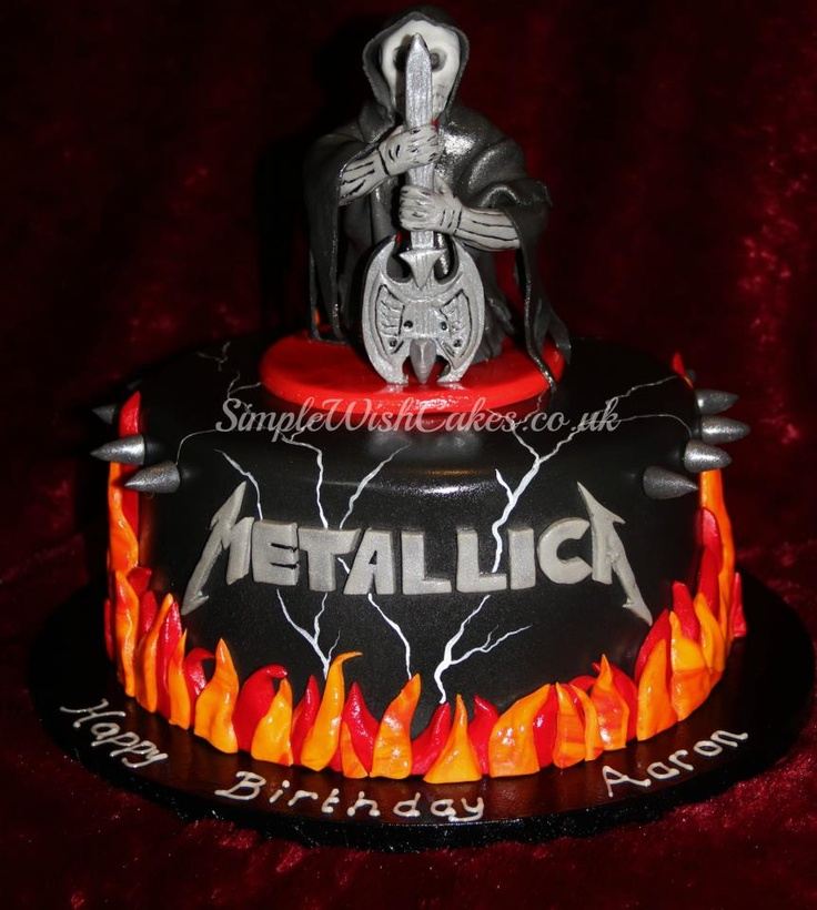 Happy Birthday Hendrix Cake