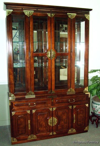 vintage china cabinets for
