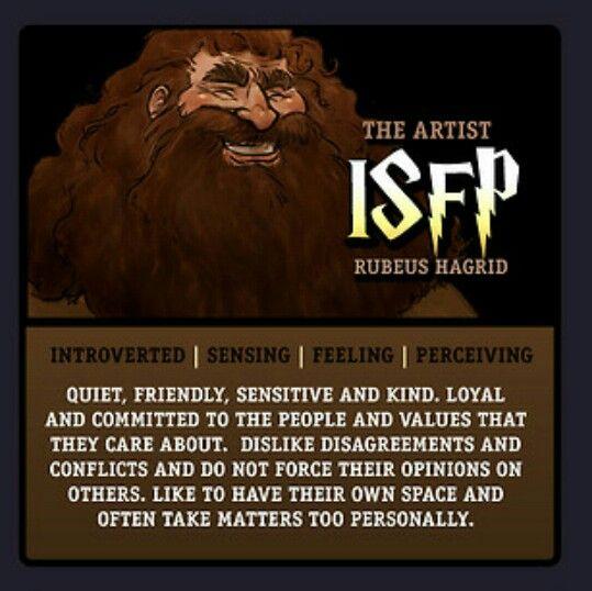 Harry Potter Myers Briggs Type Indicator MBTI chart. Art by makani ...