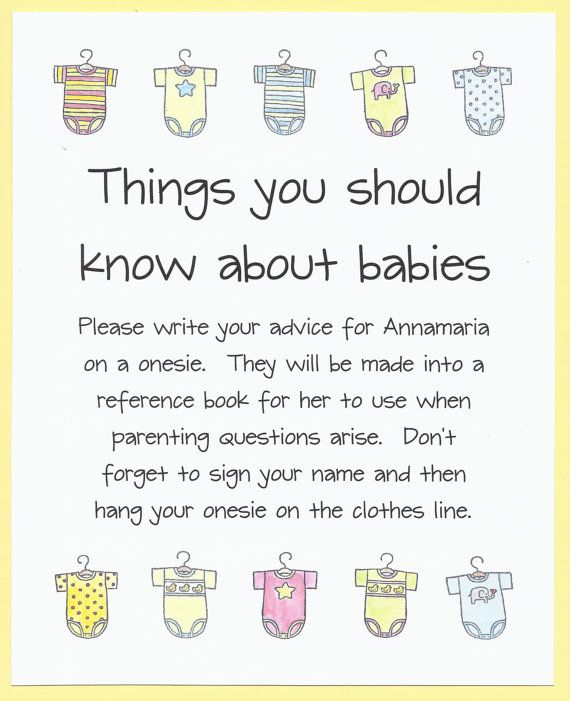 should know about by cardsbykooper quick and easy baby shower games