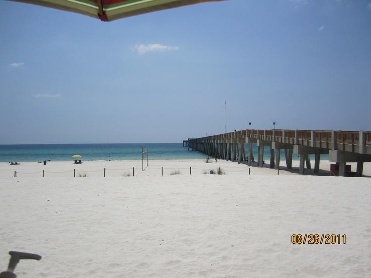 Panama city beach pier park summer 2014 pinterest for Panama city beach fishing pier