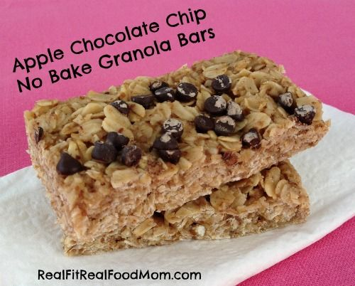 bars low fat chewy granola bars with pecans raisins and chocolate ...