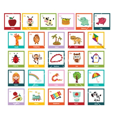 V Alphabet Images With Love Fun alphabet vector on VectorStock® | VectorStock - Clipart Love | Pi ...
