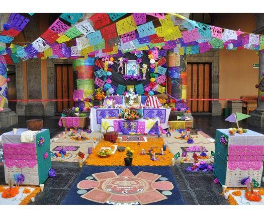 Decoracion Altar De Muertos ~ Decoration  Dia de los Muertos Ideas para Fogon  Pinterest
