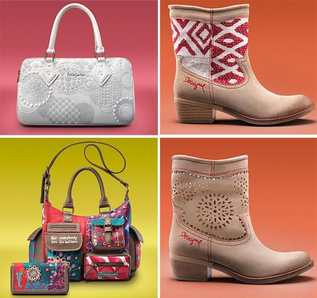 Desigual spring / summer shoes and accessories