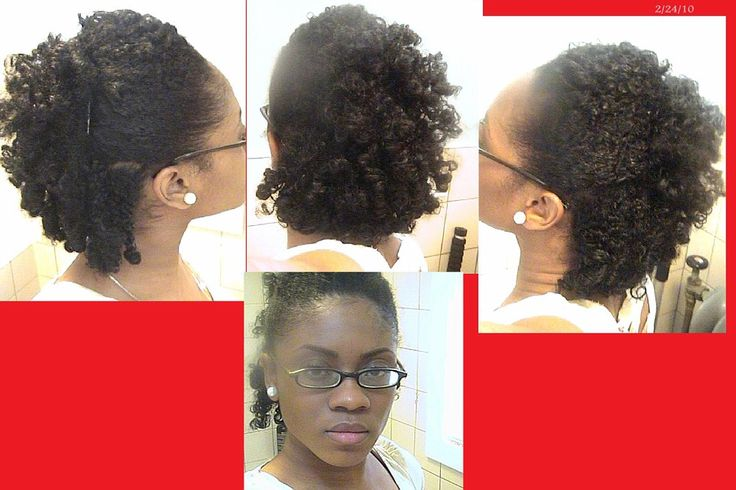 Braid n curl updo