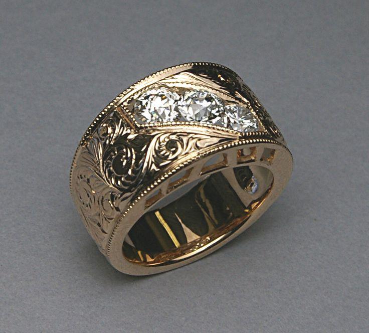 Custom Rings Men Ringscladdagh