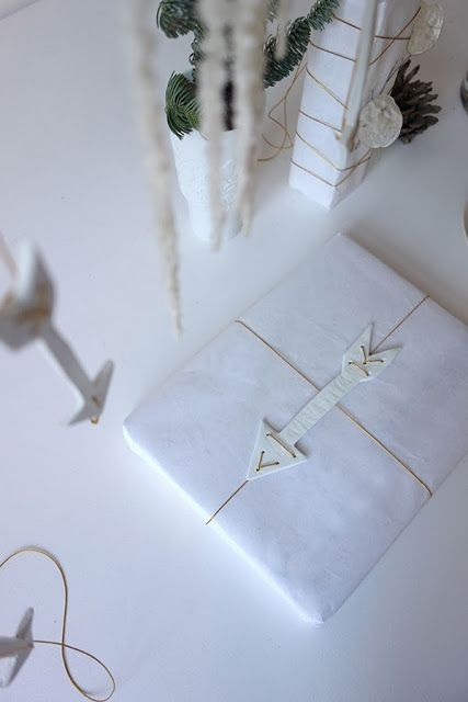 porcelain arrow christmas decorations by eclectic trends