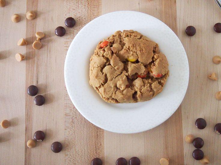 Flourless Triple Peanut Butter Cookies   Recipe