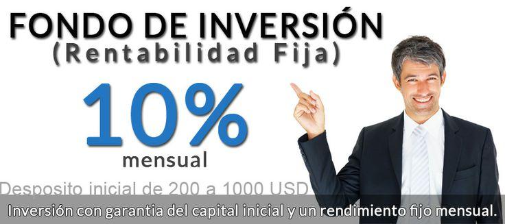 Fondo de inversi 243 n del 10 mensual fijo