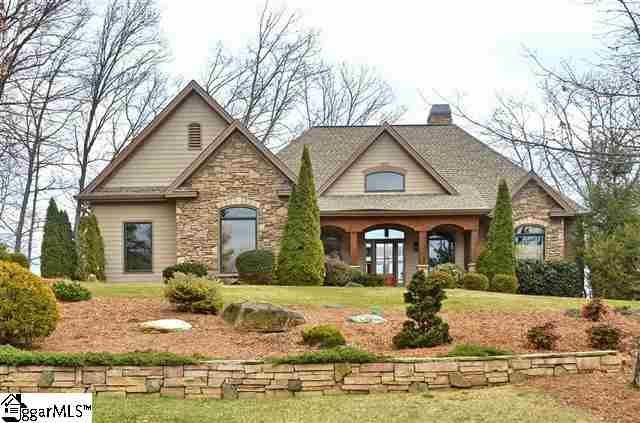 Exterior Stone Stucco And Wood Beams Dream Home