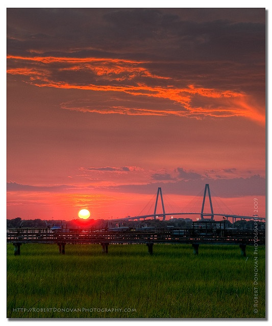 Ravenel Sunset - Charleston