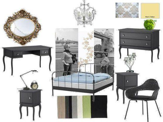 Ikea Glass Cabinet Shattered ~ edland nightstand  ikea edland dresser , team renesmee , Gold leaf